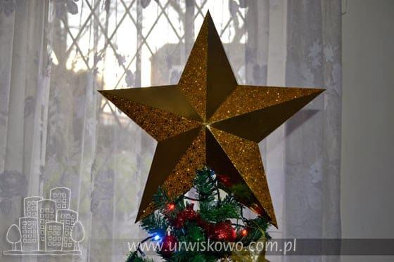 gwiazda z papieru na święta