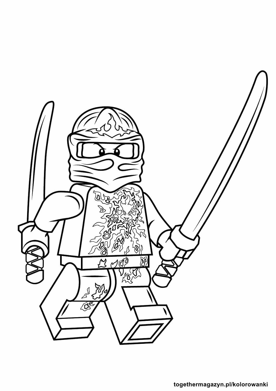 kolorowanki LEGO NINJAGO