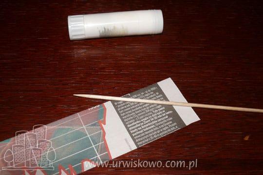 papierowa wiklina krok po kroku