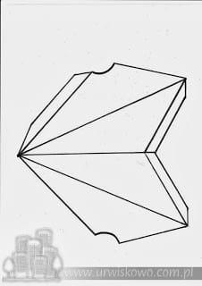 gwiazda z papieru szablon