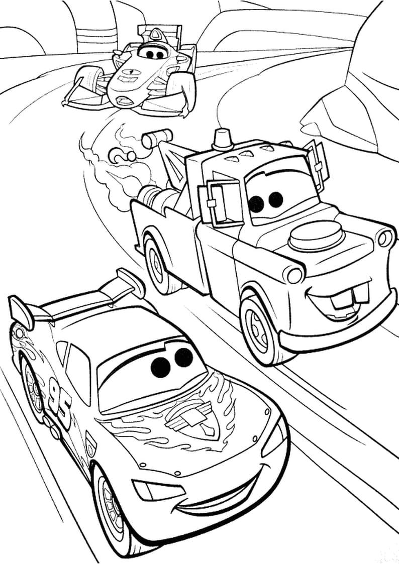 auta kolorowanka