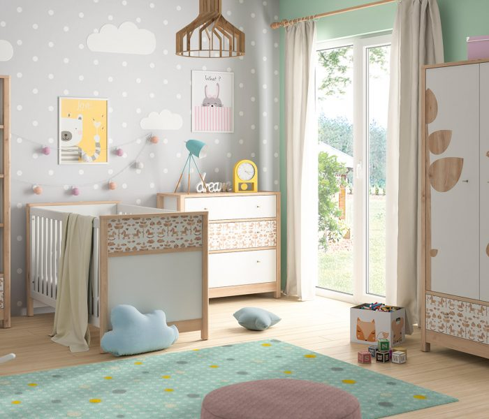 Aranżacja małego pokoju dla niemowlaka – jak robić to z głową?